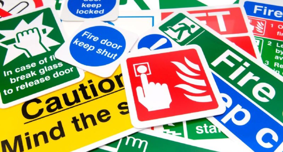 Safety Signs Supply and Fit in Brixham, Torquay, South Devon