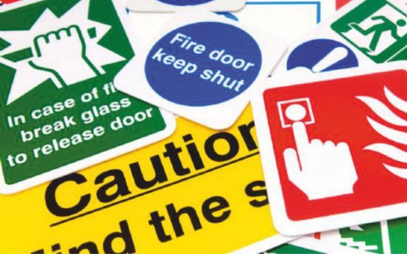 Fire Safety Servics in South Devon Safety Signage